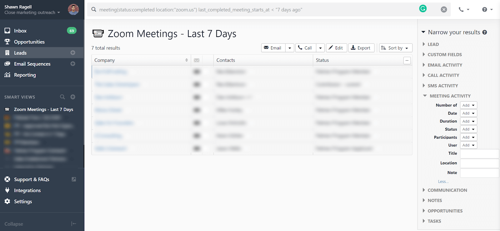zoom meetings last 7 days