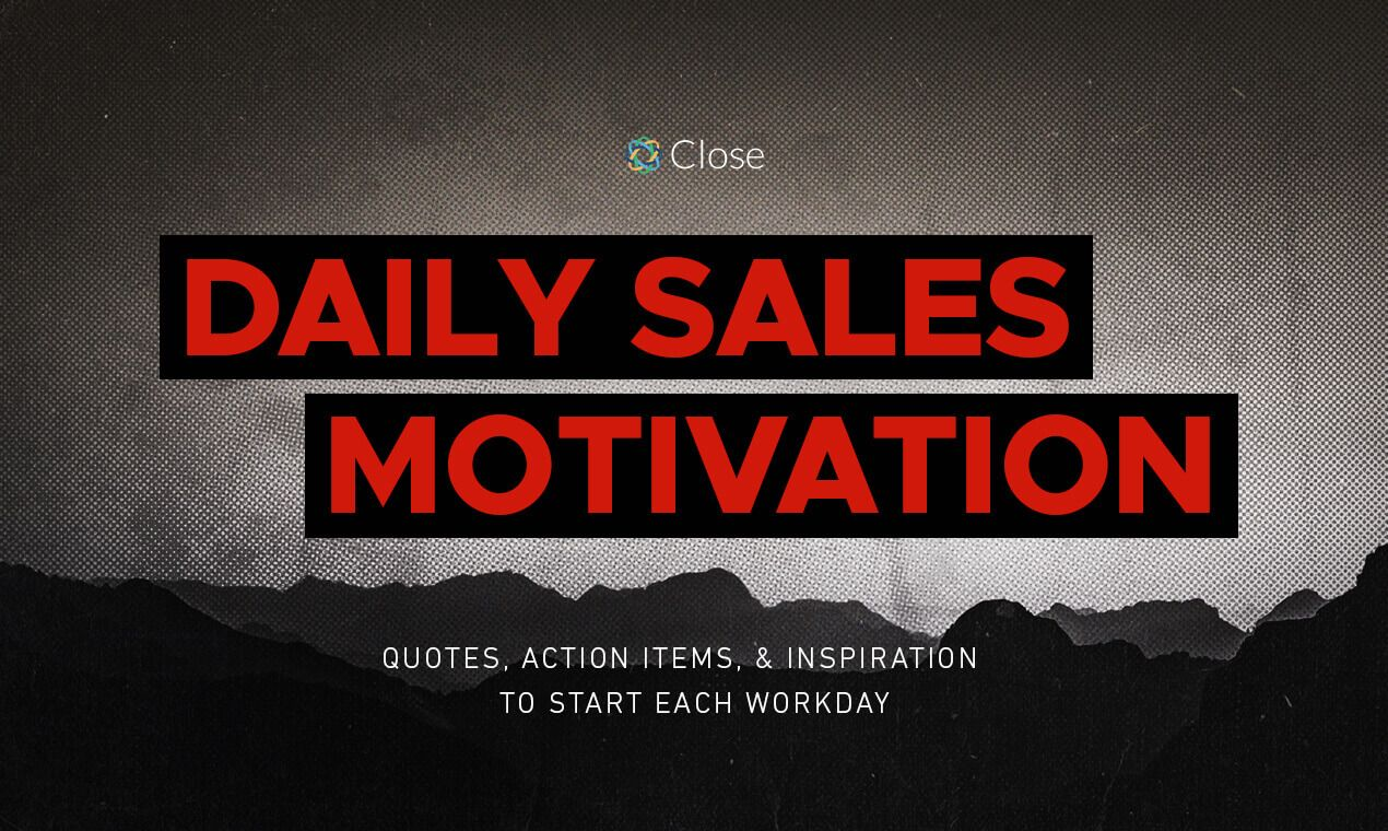 Get a daily sales motivation boost