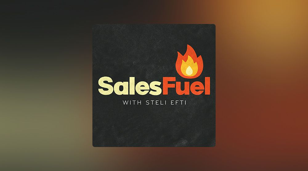 SalesFuel podcast with Steli Efti