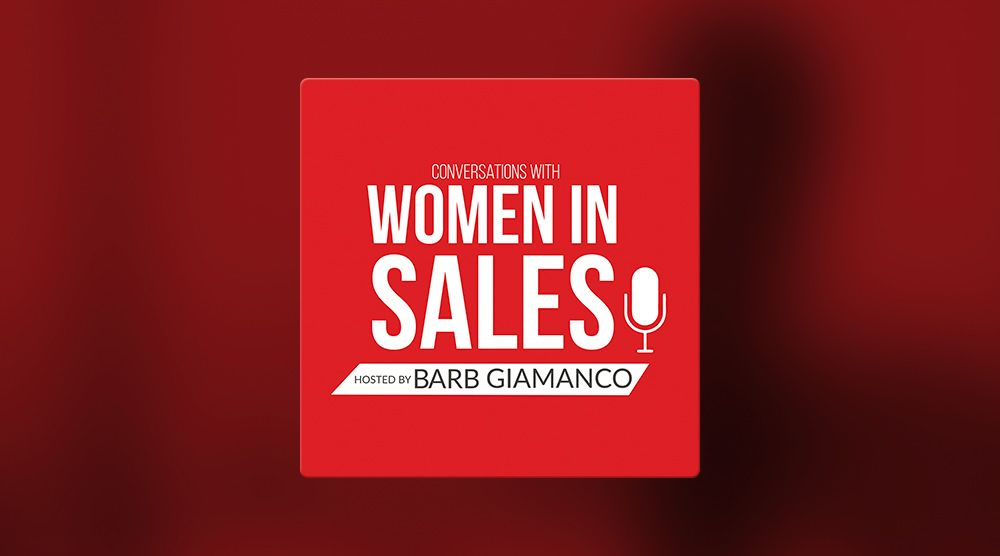 Conversations with Women in Sales podcast
