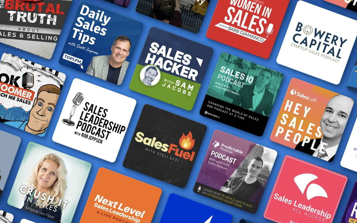 The 41 best sales podcasts for winning reps + top episodes for 2020