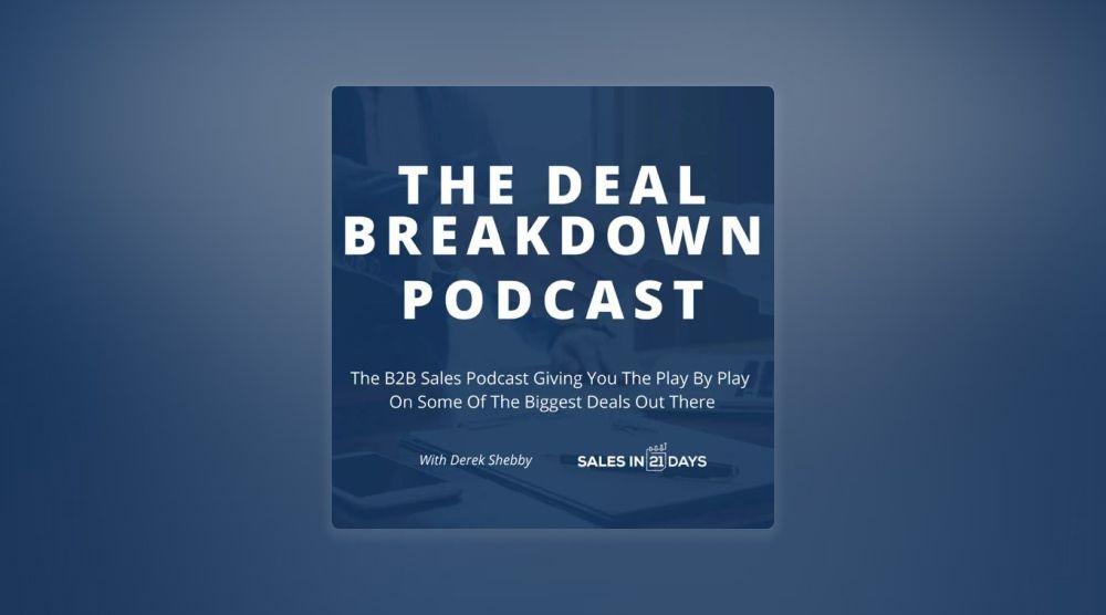 The Deal Breakdown Podcast with Derek Shebby