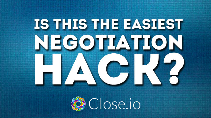 Easiest negotiation hack ever? Postpone!