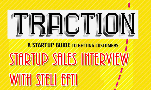 Traction Book Interview on Startup Sales
