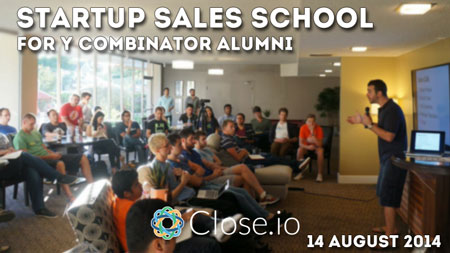 Y Combinator alumni sales school