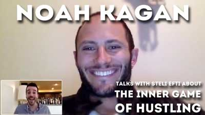 Noah Kagan's secrets to success in sales, marketing, hustling ... and life