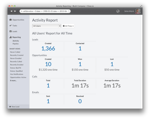 Introducing searchable reporting