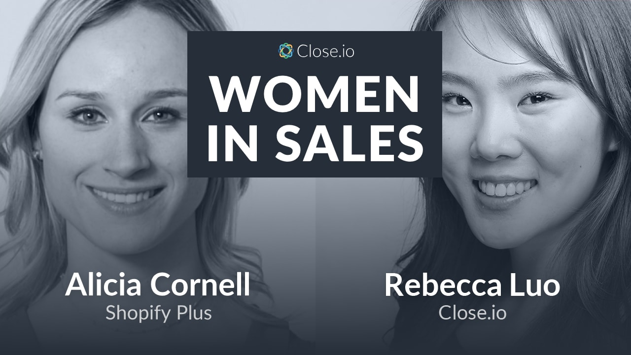 "Alicia Cornell at Shopify Plus: ""Breaking Up"" and Falling Back In Love with Sales"