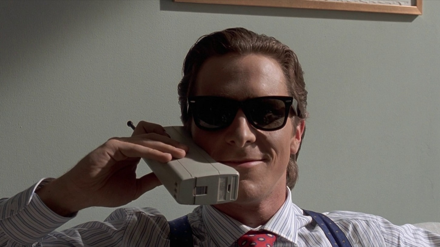 B2B appointment setting-christian bale on phone