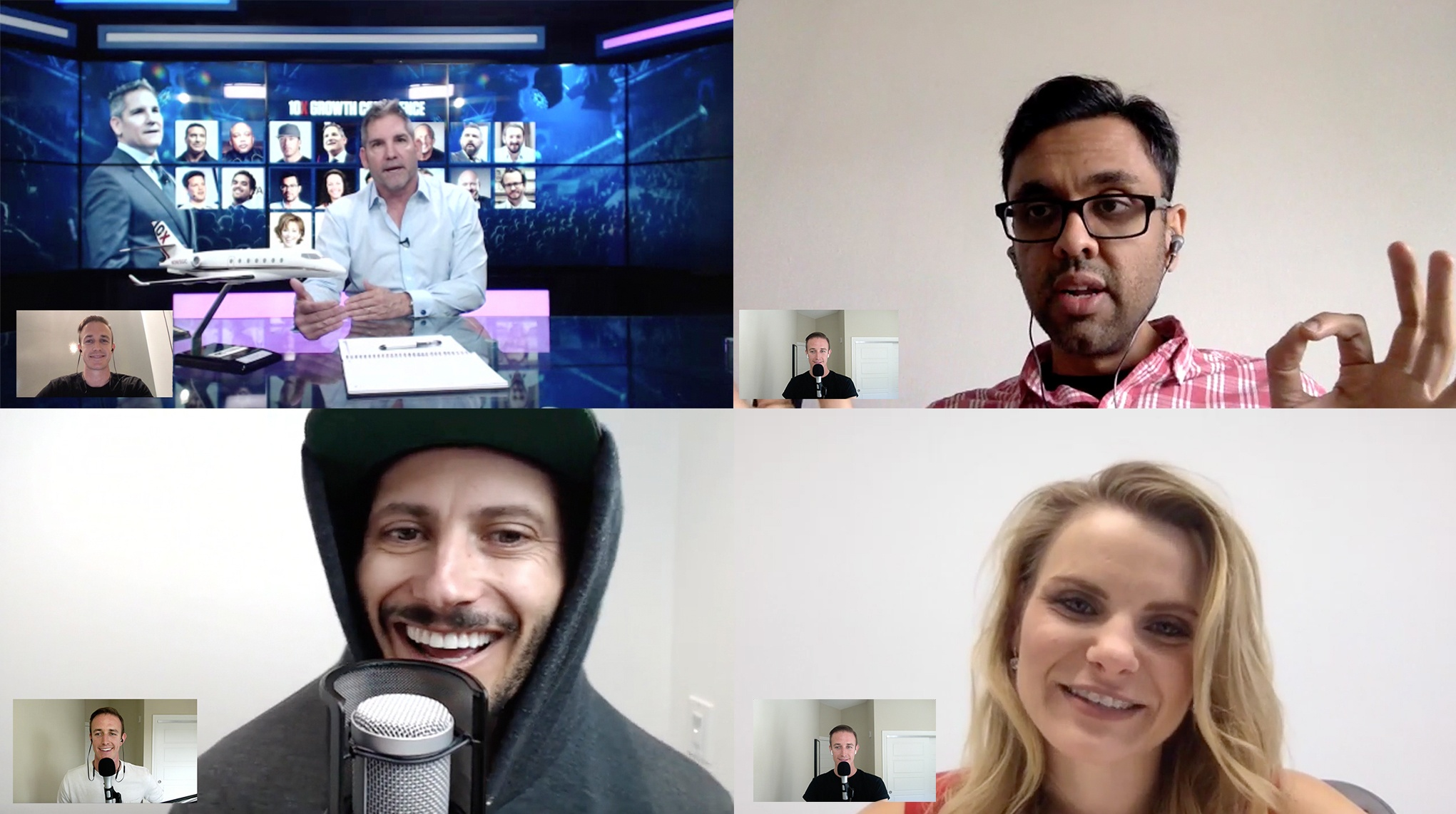 9 steps to create a virtual summit: 7,827 subscribers and 55 interviews