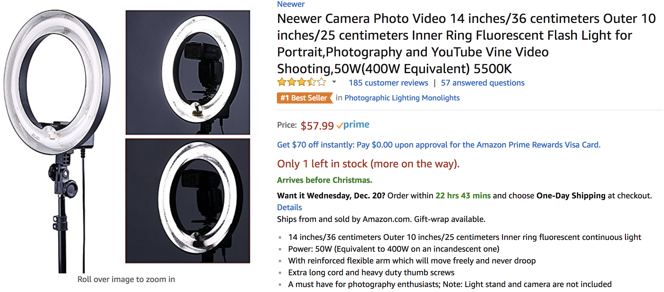 Create Virtual Summit Lighting on  Amazon.png