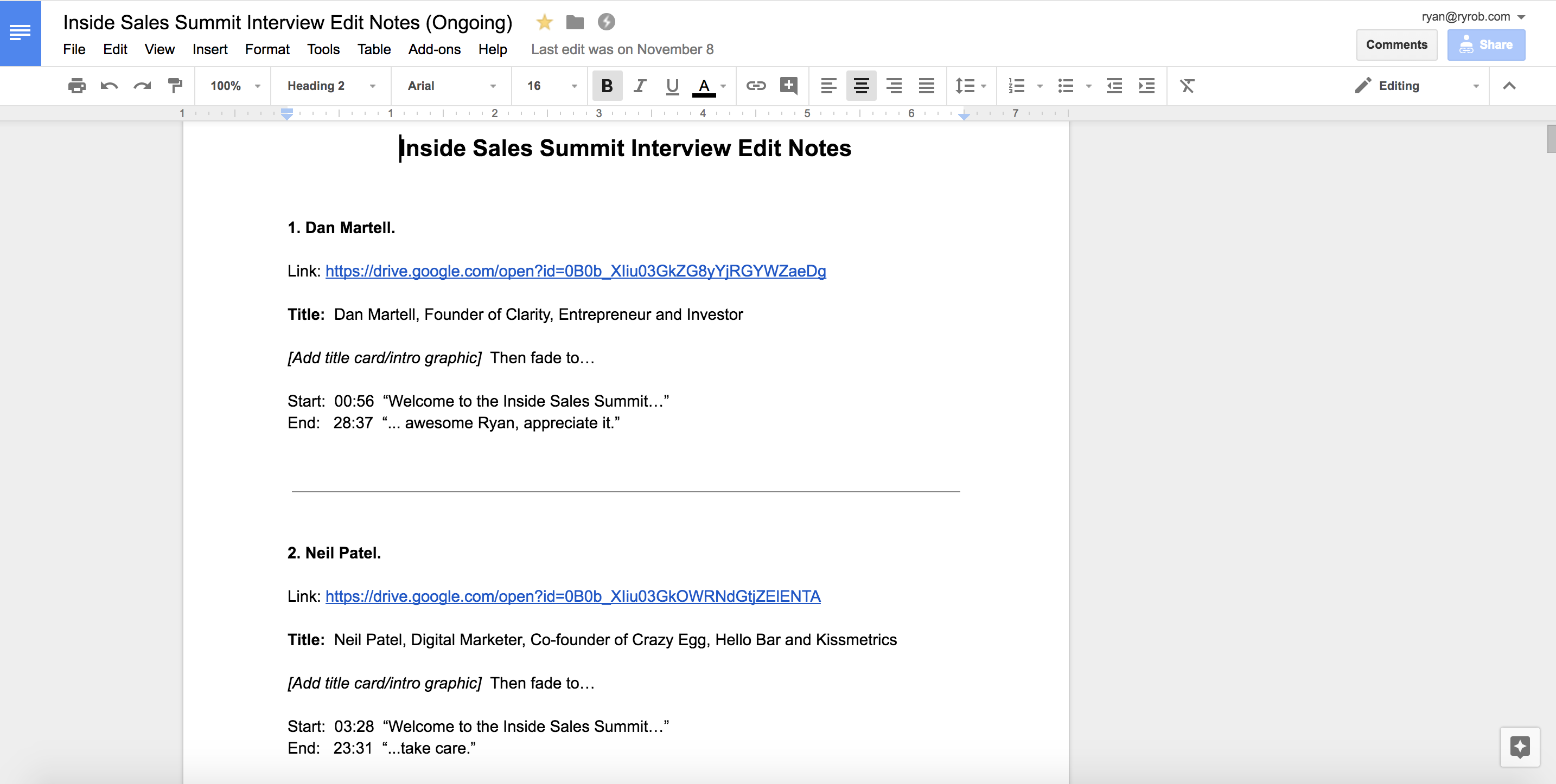 Create Virtual Summit Video Editing Edit Notes Doc.png