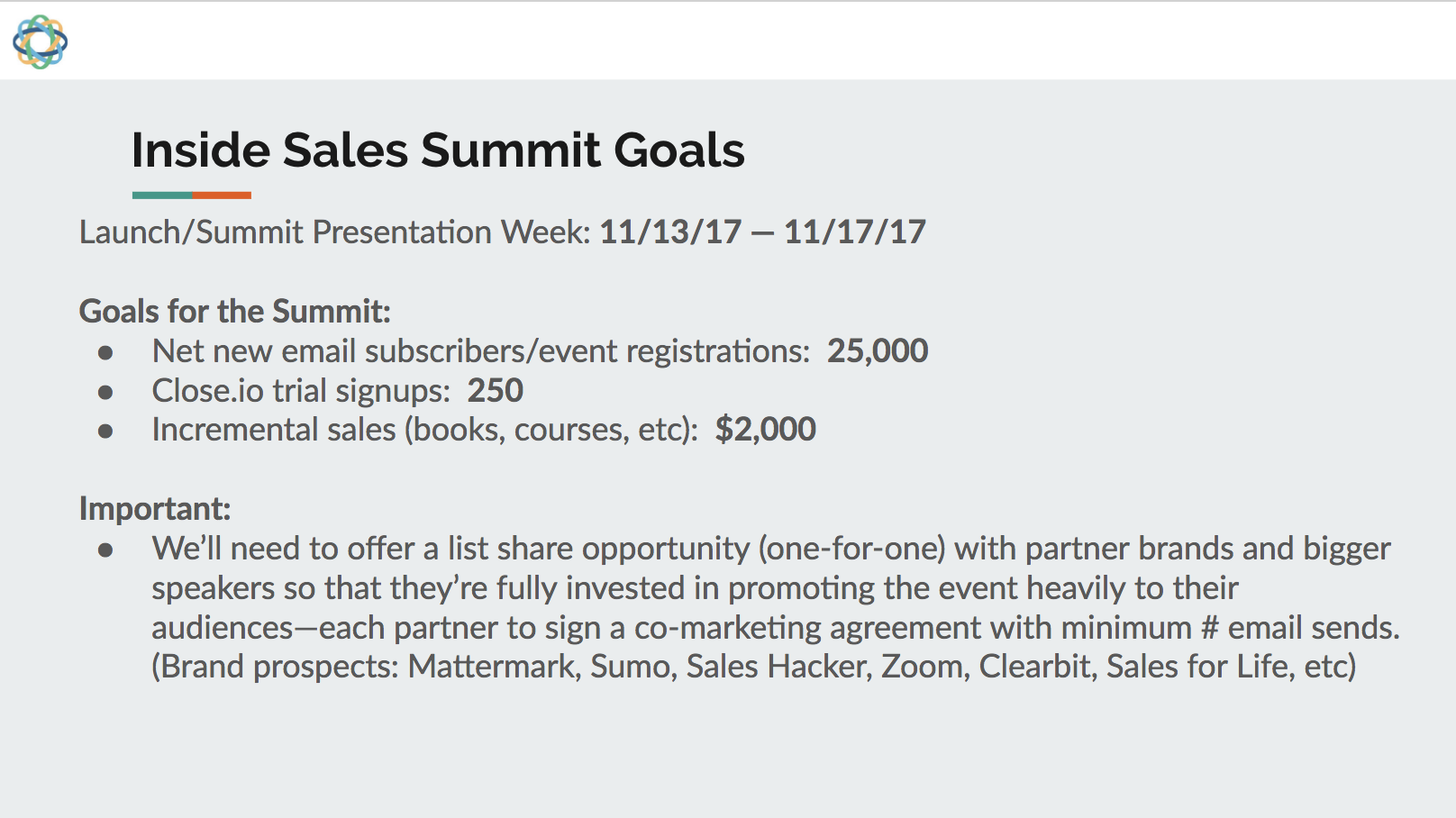 How to Create a Virtual Summit goals Closeio.png
