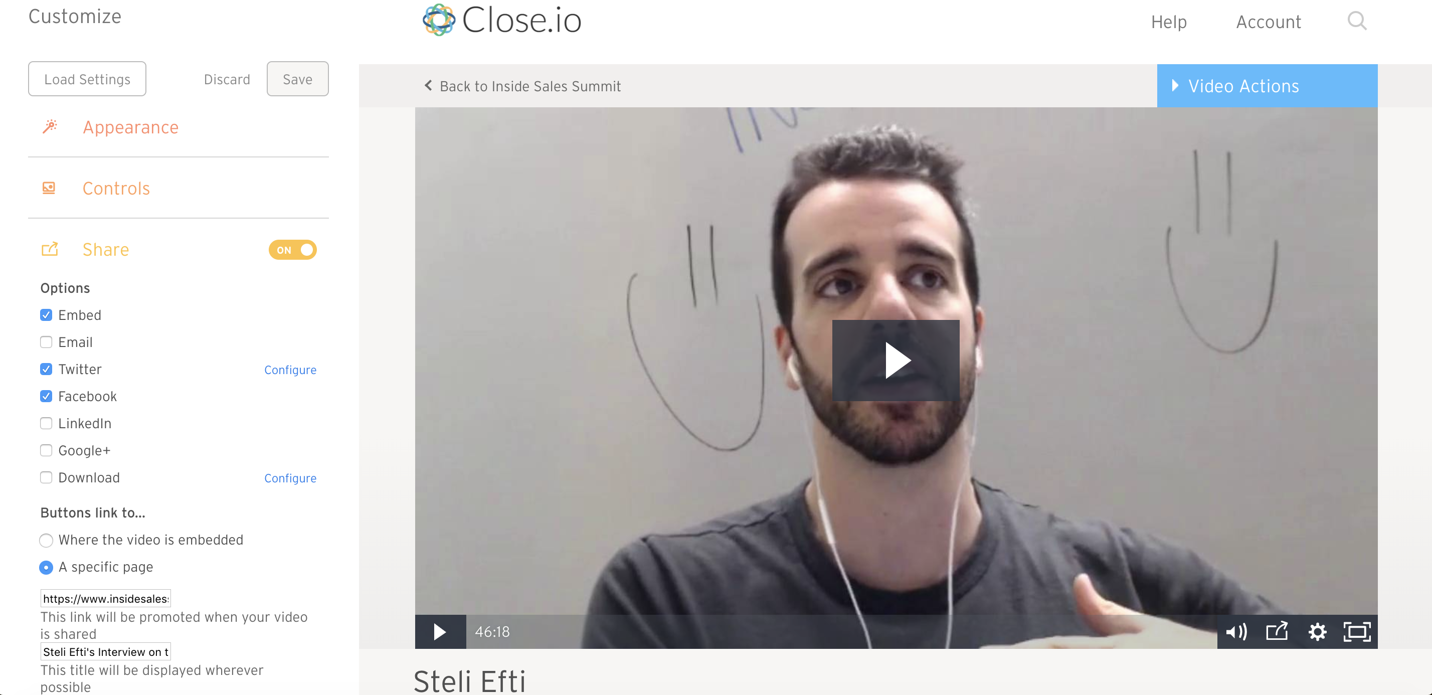 How to Launch Virtual Summit Steli Interview Screenshot Wistia.png