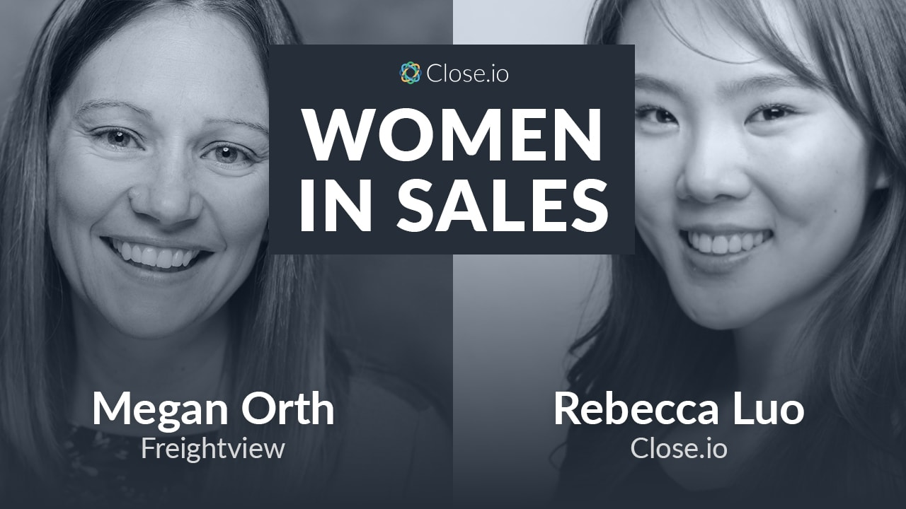 Megan Orth, Freightview: How Parenthood and Family Shaped Her Sales and Startup Life