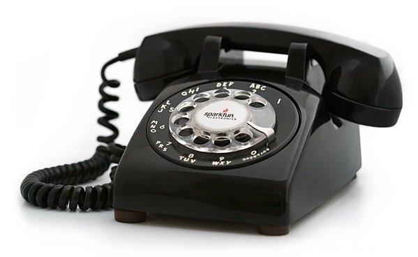 Predictive Dialer rotary phone-1
