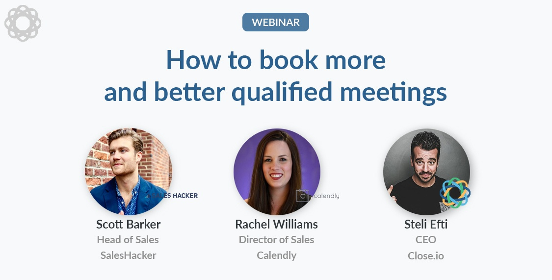 How to book more (and better qualified) meetings with Rachel Williams and Scott Barker