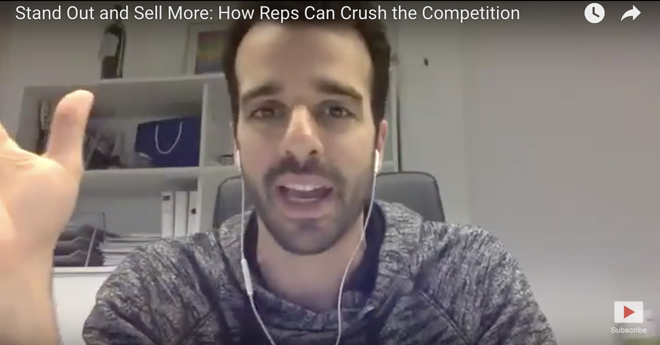 Stand out and sell more: How reps can crush the competition (Q&A webinar)