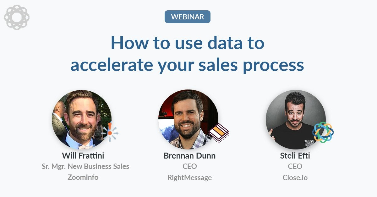 How to use data to accelerate your sales process (Q&A webinar)