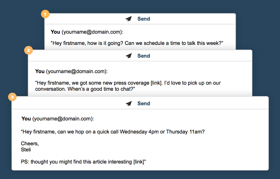 The winning cold email follow-up game plan