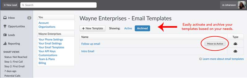 Product update: Archiving email templates, emojis, revamped Support Center and more