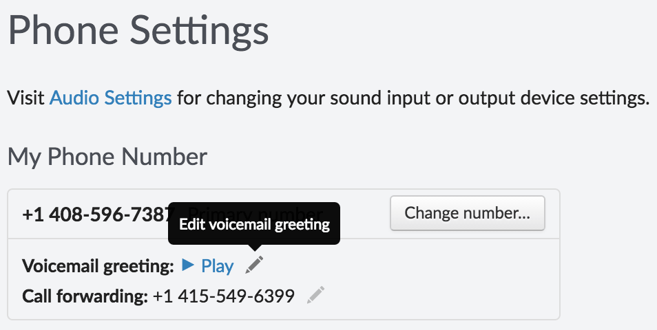 Product update: Goodbye mp3 files—Record and edit your voicemail greeting in-app