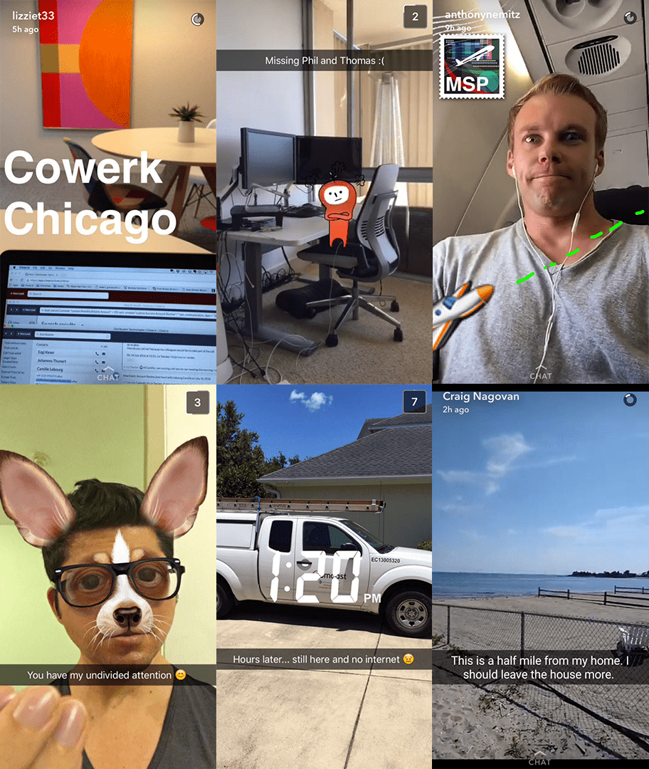 How our remote team works better together: Snapchat as an internal communications tool