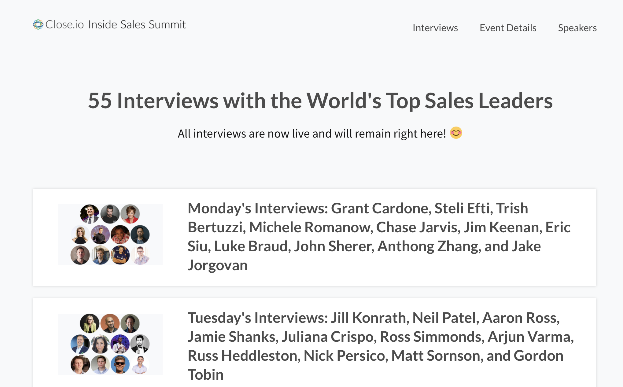 launch virtual summit interview directory page.png