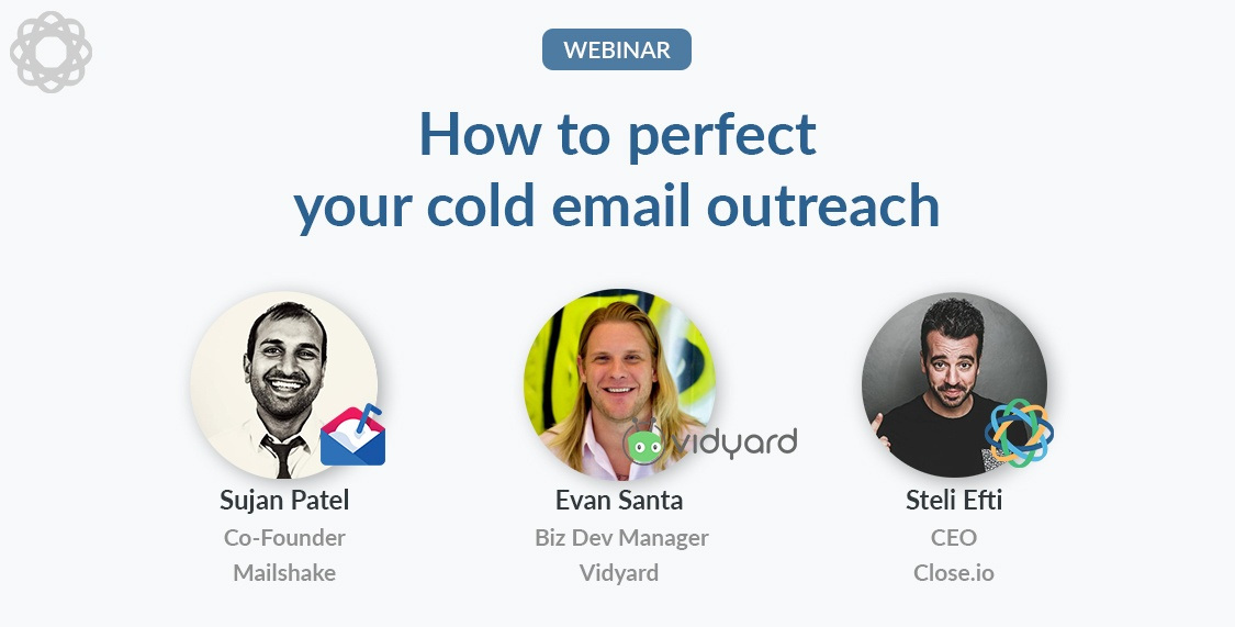 sales email tips perfect your cold email outreach webinar