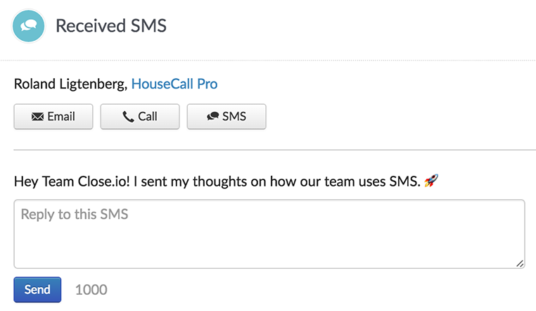 How HouseCall Pro increased their close rate by 15% using SMS