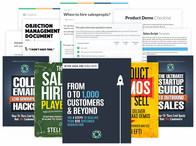 My best sales tools ever: The (free) Startup Sales Resource Bundle