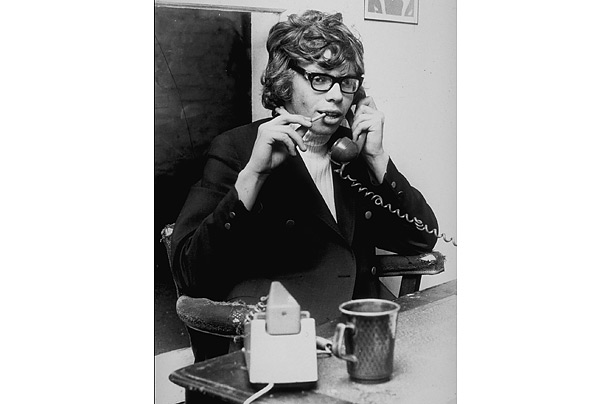 A young Richard Branson once he upgraded from public phone booth to having a real landline
