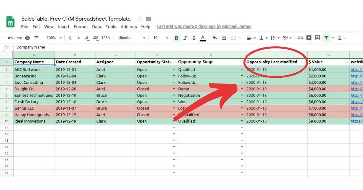 CRM vs spreadsheet migrate step 1-1