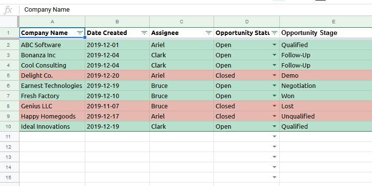 CRM vs spreadsheet warning sign 5