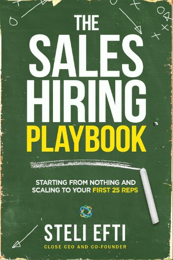 Sales Hiring Playbook Cover