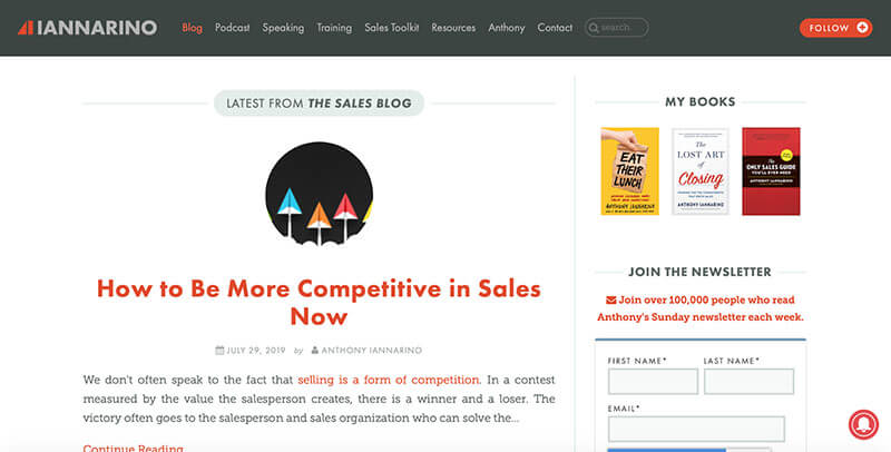 anthony-iannarino-sales-blog