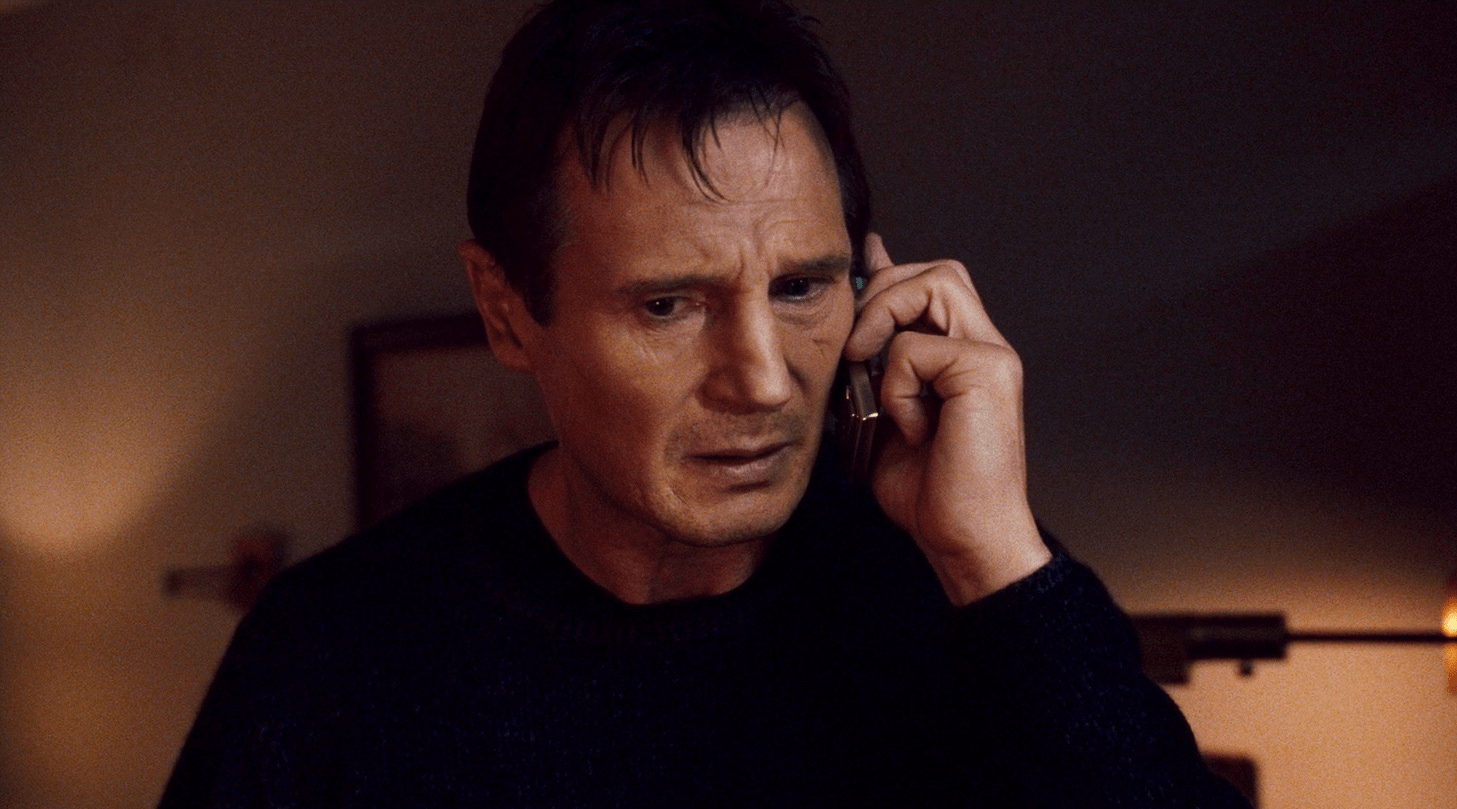 appointment setting - Liam Neeson-min