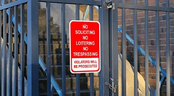 no-soliciting-sign