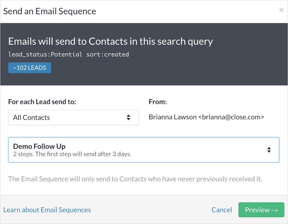 email-sequence-close-app