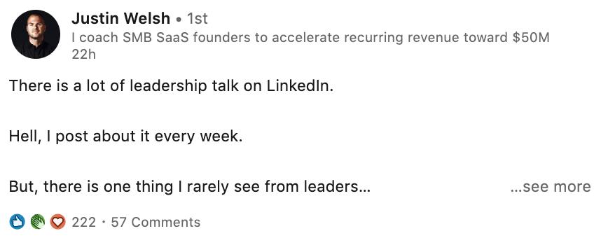Justin-Welsh-Linkedin