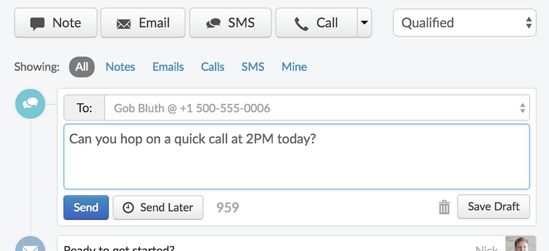 close-app-sms-message