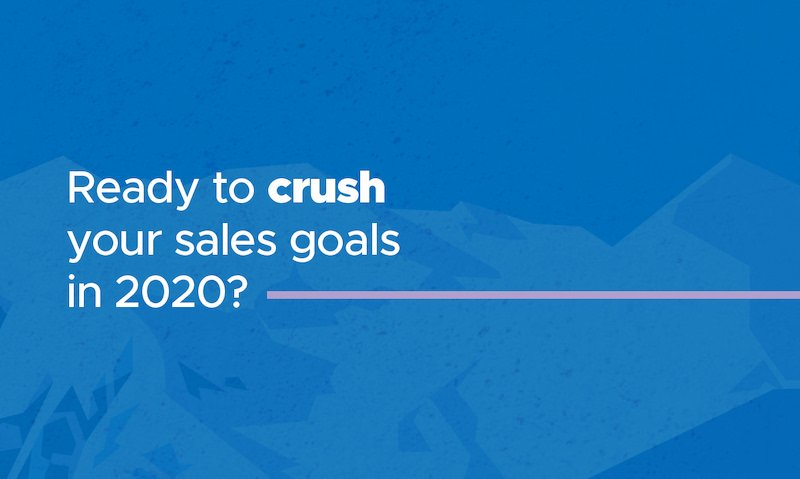 Hit the ground running with the 2020 Sales Success Kit