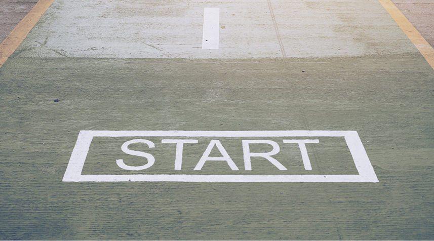 start-goal-line