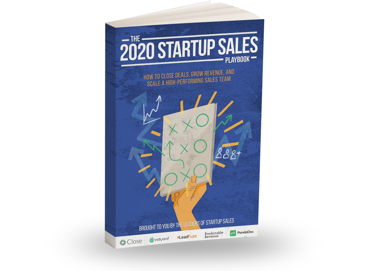 Announcing The 2020 Startup Sales Playbook