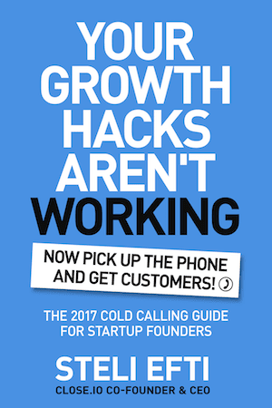 My latest book on cold calling for founders & business owners [free download]